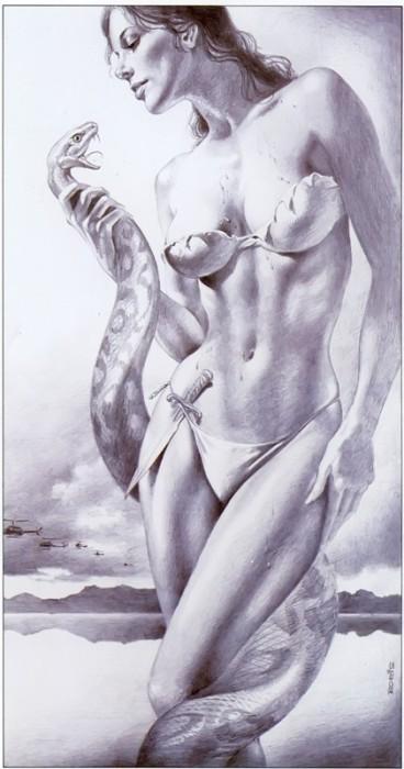 Рисунки голых дам 39335 фотография