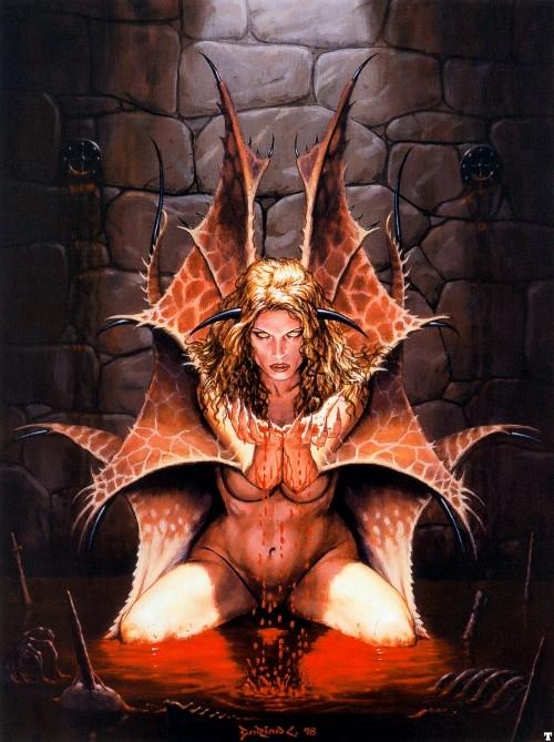 эротические фэнтези вампиры-яе2