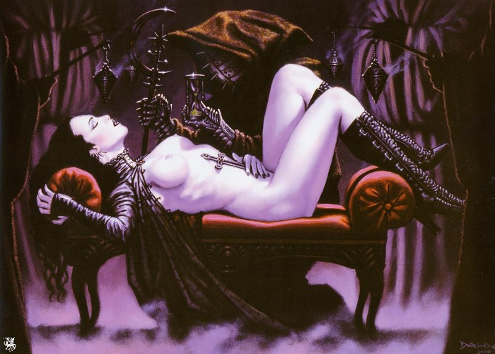 вампиры эротика арты